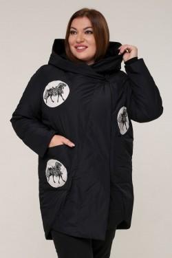 Женская весенне-осенняя куртка 211-2 Черный