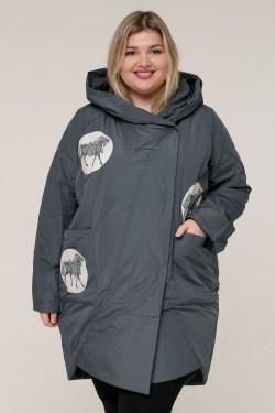 Женская весенне-осенняя куртка 211-2 Серый