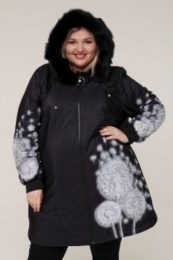 Женская зимняя куртка 61686 Черный