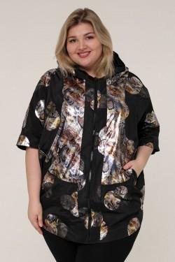 Женская осенне-весенняя куртка 61700 Черный
