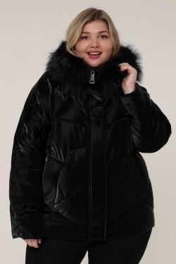 Женская зимняя куртка 20535 Черный