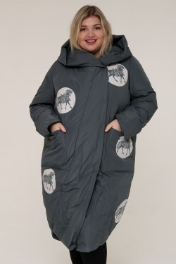 Женская зимняя куртка 212-2 Серый