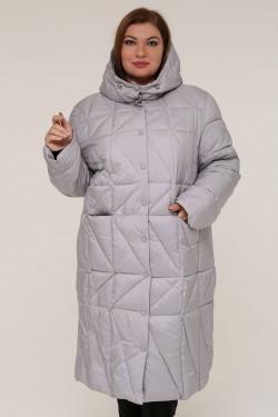 Женская зимняя куртка 20606 Серый