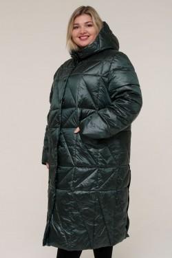 Женская зимняя куртка 20606 Зеленый