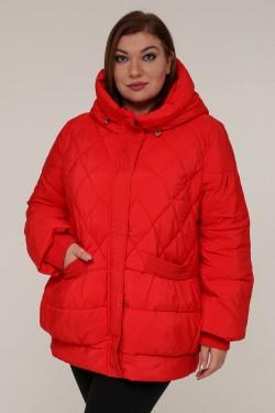 Женская зимняя куртка 20332 Красный