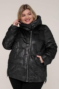 Женская зимняя куртка 20553 Черный Бархат