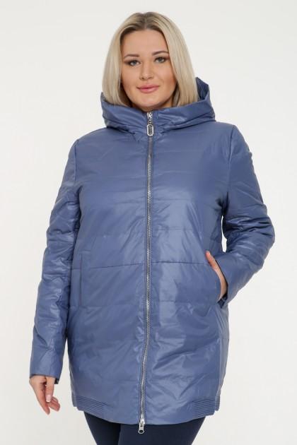 Куртка женская, фасон удлиненный, 19167, Голубой