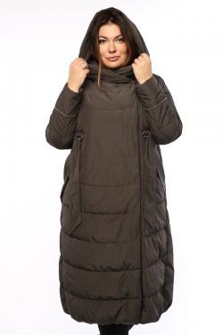 Женское пальто, 19326, Серый