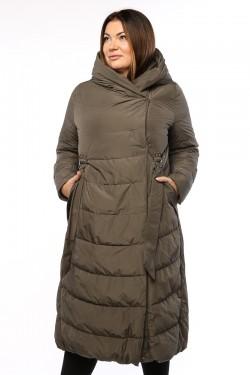 Женское пальто, 19326, Хаки