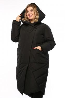 Женское пальто, А 212, Черный