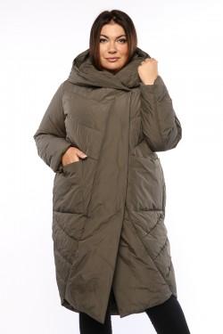 Женское пальто, А 212, Хаки
