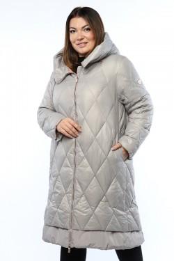 Женское пальто, 19215, Серый