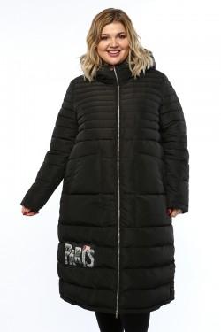 Женское пальто, 16956, Черный