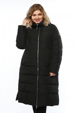 Женское пальто, А 205, Черный