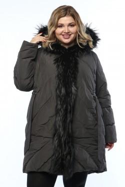 Женская куртка, 19326-1, Серый
