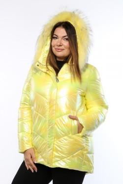 Женская куртка, 19568, Желтый