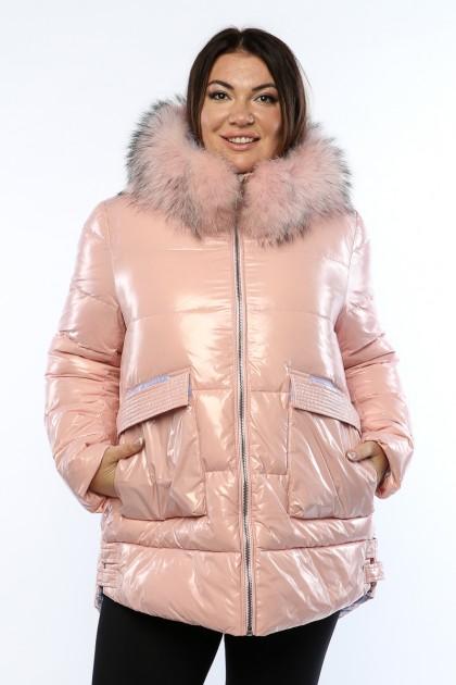Женская куртка, 19428, Пудра Лак