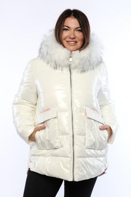 Женская куртка, 19428, Белый Лак