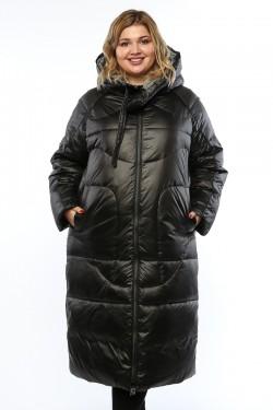 Женское пальто, 19988, Черный