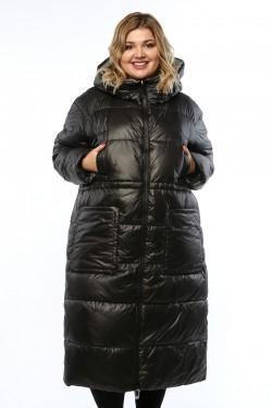 Женское пальто, 19929, Черный
