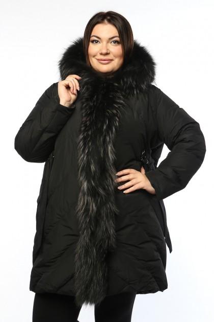 Женская куртка, 19326-1, Черный
