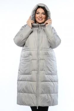 Женское пальто, 19929, Серый