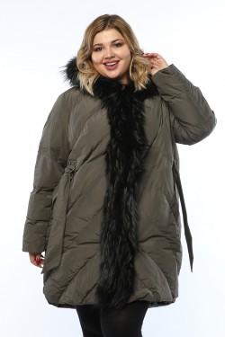 Женская куртка, 19326-1, Хаки