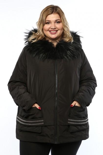 Женская куртка, 19367, Черный