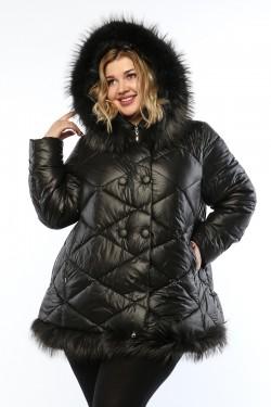 Женская куртка, А 145, Черный