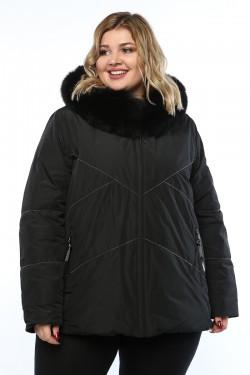 Женская куртка, 19311, Черный