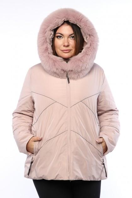 Женская куртка, 19311, Пудра
