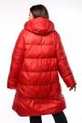 Женское полупальто, А 206, Красный