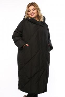 Женское пальто, 19330, Черный