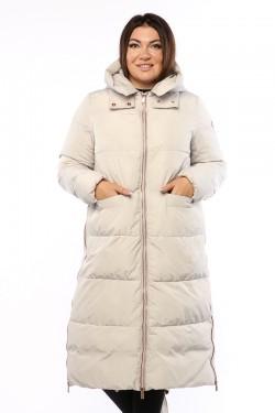 Женское пальто, 19210, Белый