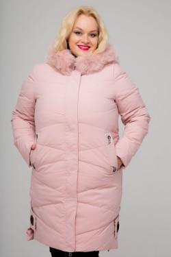 Женское пальто, 18-620, Пудра