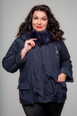 Женская куртка, А-166, Темно-Синий