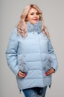 Женская куртка, 18-627, Голубой