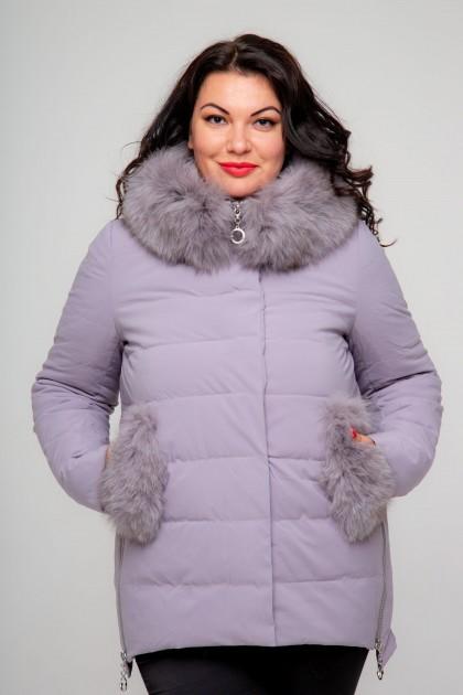 Женская куртка, 18-627, Сиреневый