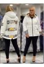 Женская куртка весна-осень 61835 Белый