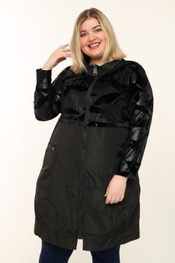 Женская куртка весна-осень 6920 Черный