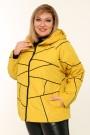 Женская куртка весна-осень 211-42 Горчица