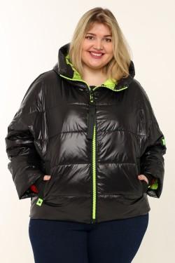 Женская куртка весна-осень 71044 Черный
