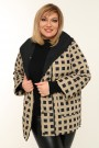 Женская  двухсторонняя куртка весна-осень 211-152 Бежевый