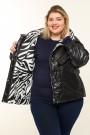 Женская  куртка весна-осень 20806 Черный