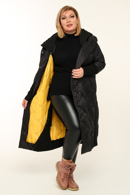 Женская куртка весна-осень 4400 Черный