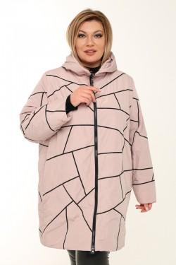 Женское пальто весна-осень 211-41 Пудра