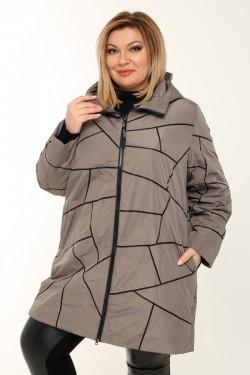 Женское пальто весна-осень 211-41 Капучино