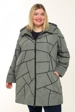 Женское пальто весна-осень 211-41 Хаки