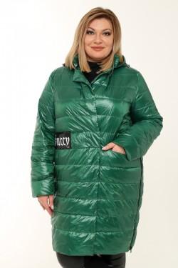 Женское пальто весна-осень 7751 Зеленый