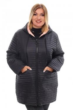 Женская удлиненная зимняя куртка 21088 Черный